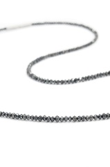 Collier de diamant brut